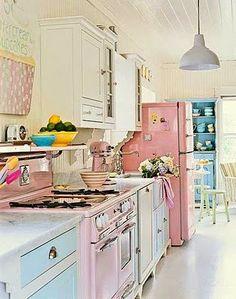dreamy girly kitchen