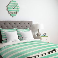 With black and white arrows black white mint bedroom white and mint