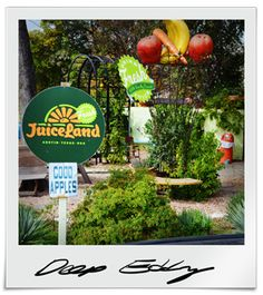 Deep Eddy JuiceLand- we must visit this place at least 4 times a week to stay in tip top nutrient land!
