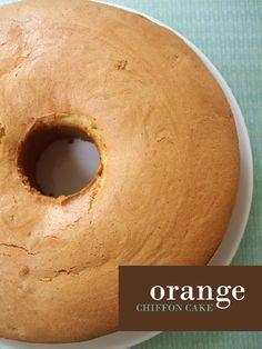 Orange Chiffon Cake | San's Blessed Moments