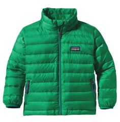 Think of this jacket as your baby's on-the-go comforter. It's lightweight, warm, easy to pack, and oh so easy to layer. From Patagonia, naturally!