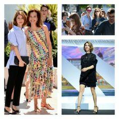 Cannes Do Chic: Can't beat a timeless crisp blue shirt a la Sofia Coppola