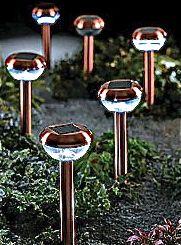 Stainless Steel garden Solar Lights.