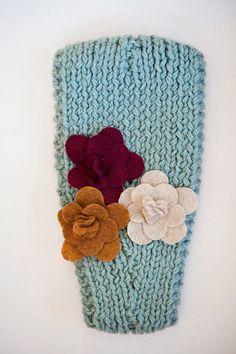Knitted Headband - Love