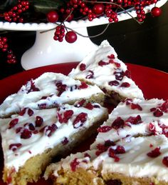 Starbucks Cranberry Bliss Bar (Copycat Recipe)
