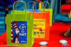 Dr. Seuss idea! | CatchMyParty.com