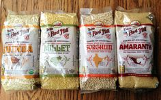 Bobs red mill grains