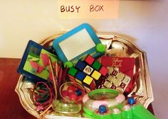 The Busy Box Teaches Productive Waiting and Avoids Fights Before Leaving the House