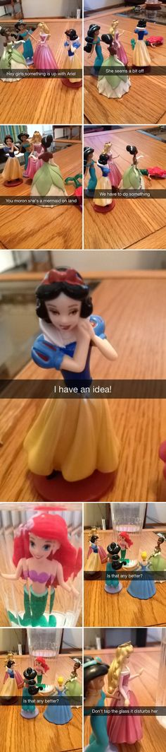 WHO IS THIS PERSON WHO KEEPS SNAPCHATTING THE DISNEY PRINCESSES I LOVE THESE