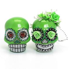 Skull Wedding Cake Topper A00167