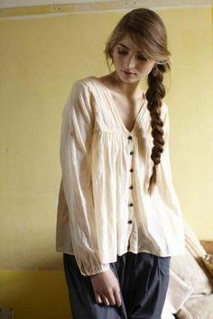 Tea blouse.