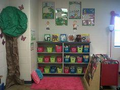 Independent reading corner