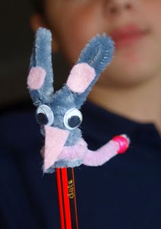 Cute bilby pencil toppers