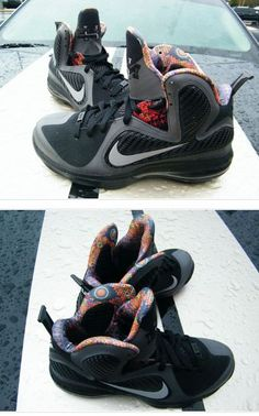 """Nike LeBron 9 """"Black History Month"""" Sneaker (New Images + Release Date)"""