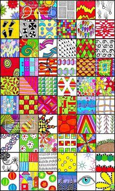 draw, doodle patterns, illustrations, doodles, colors, collaborative art, zentangle patterns, doodle art, kid