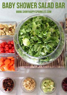 salad bar lunch- if
