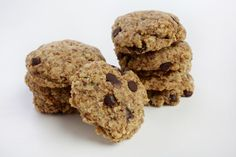 Soft-Baked Chocolate Chip Almond Breakfast Cookies