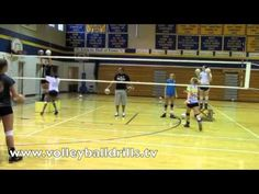 Volleyball Middle Bl