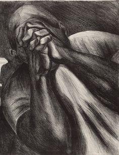 José Clemente Orozco, Grief, 1930