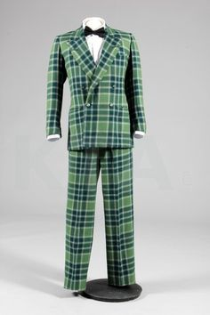 HRH Duke Of Windsor's Tartan Evening Suit