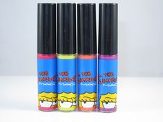 MAC The Simpsons Lipglass #thesimpsons #macandmarge #makeup