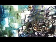 "▶ ""Fragmentation"" - mixed-media collage peek (2012) - YouTube"