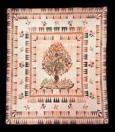 Textiles (Furnishing) - Quilt vintag quilt, medallion quilt, appliqué quilt, textil, piec quilt, antiqu quilt