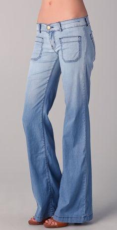 jean, cloth, style, low rise, bells, denim, closet, currentelliott, blues