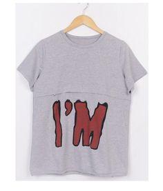 Something fun. NEW Nursing Tops Maternity Clothes Breastfeeding Shirt Tops Nursingwear | eBay