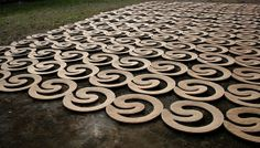 SHFT | Domingos Totora's Recycled Cardboard Objects