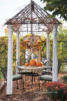 Thanksgiving outside decor~