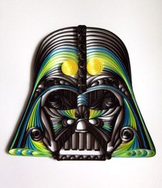 Delightfully Geeky Paper Quilling - Neatorama