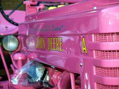 pink tractors!