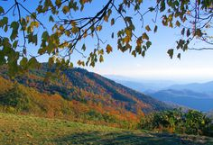 Ahhh... blood pressure is dropping. Fall color in the North Carolina mountains. north carolina mountains