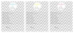"""House by Hoff: A Gray & Yellow Elephant Baby Shower + Free """"Wishes"""" Printable"""