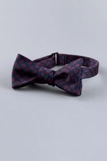 Maroon Paisley Bow Tie - Indochino