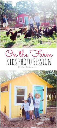 On the farm kids photography session. Great ideas and inspiration for fall family pics. #familyphoto #picture #ideas
