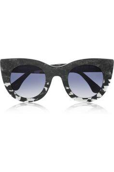 Thierry Lasry sunglasses, $385 #cateye