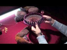 Make your own Fishnet Yarn   Ruffle Knit Yarn Tutorial How-to