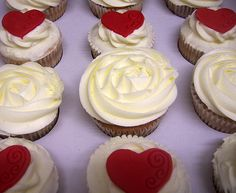 Ruby Wedding Cupcakes