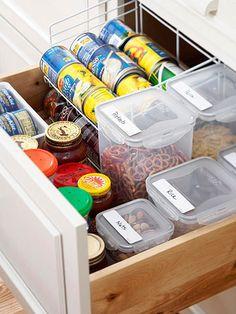 deep drawer, idea, foods, organizations, food storage