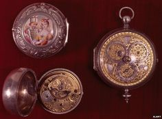 Pocket watches, designed by Thomas Tompion