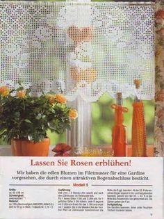crochet - cortinas - curtains - Raissa Tavares - Picasa Web Albums crochet curtains