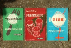 Vintage covers for Ministry of Food booklets