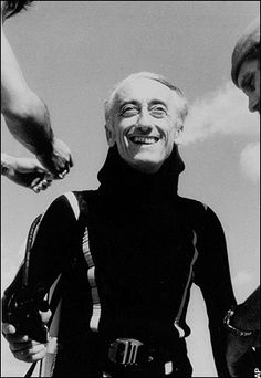 Jacques Cousteau.