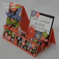 stair step cards, dawn griffin, stampin up cards