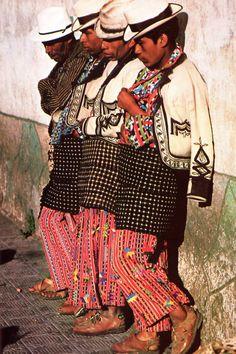 #Mayan men in typical dress. #Guatemala