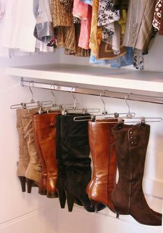 If only I had the hanging space in my closet