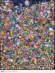 Just 649 Pokemon