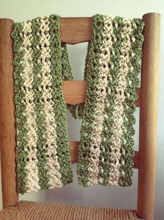 Merry Angled Scarf: free pattern